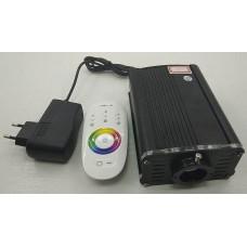 LED проектор 16W RGBW c эффектом мерцания, с пультом управления для хаммама