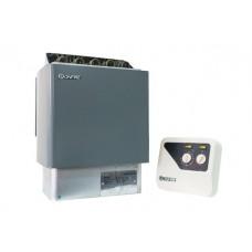 Настенная электрическая печь для сауны Bonfire SCA-90W 9 кВт объем парной 9-13 м.куб с пультом