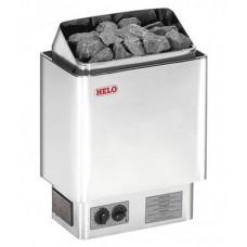 Настенная электрокаменка Helo CUP 60 STJ хром 6 кВт для сауны и бани объем парилки 5-9 м.куб вес камней 23 кг
