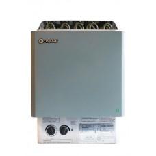 Настенная электрическая печь для сауны Bonfire SCA-80NB 8 кВт объем парной 8-12 м.куб