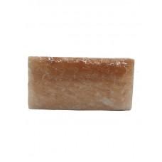 Плитка из гималайской соли 200х100х25 мм рваная поверхность для бани и сауны