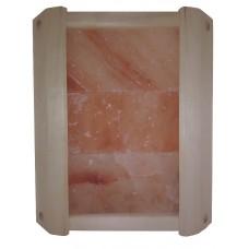 Ограждение светильника Greus угловое из гималайской солью 3 плитки для бани и сауны