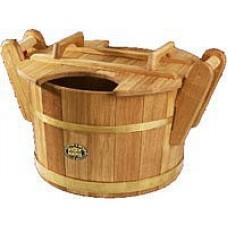 Запарник Бонпос дубовый 35 л для бани и сауны