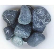 Камень серпентинит шлифованный (5-7 см) мешок 20 кг для электрокаменки