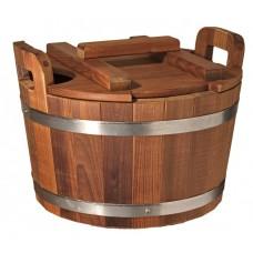 Запарник Tesli 20 литров термированная липа и нержавеющая сталь для бани и сауны
