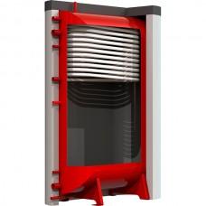 Теплоаккумулятор Kraft БТА 500 литров плоский со змеевиком