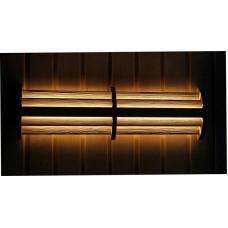 Светильник Cariitti LED 54 светодиодный цветной с пультом ДУ для бани и сауны