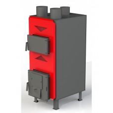 Теплогенератор Dragon ТТГ-РТ 25 кВт (4К-2 мм) твердотопливный воздушного отопления из котловой стали