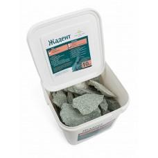 Камень жадеит колотый мелкий (ведро 10 кг) для электрокаменки