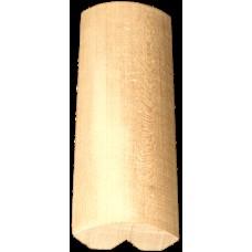 Декор лавочный липа 65 Экстра 80х24 мм Tesli для бани и сауны