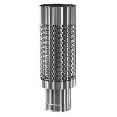 Сетка для камней на трубу 580 мм Ø 115/200 мм для бани и сауны