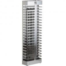 Настенная электрокаменка HUUM STEEL 3.5 кВт для сауны и бани объем парилки 3.5-6 м.куб вес камней 60 кг