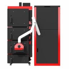 Пеллетный котел Kraft F 25 кВт с факельной горелкой Oxi (Украина) максимально автоматизирован