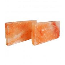 Плитка из гималайской соли 200х100х25 мм для бани и сауны