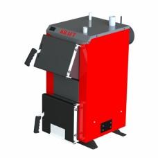 Бюджетный универсальный котел Kraft А 16 кВт из котловой стали работающий на любом твердом топливе