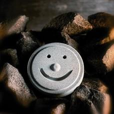 Камень для пара Hukka Смайл из талькомагнезита для бани и сауны