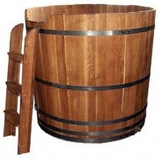 Купель дубовая круглая BentWood высота 1 метр диаметр 150 см