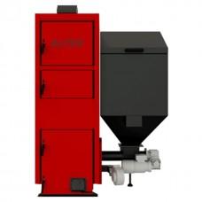 Котел с бункером на пеллетах с автоматической подачей топлива Альтеп Duo Pellet N мощностью 15 кВт