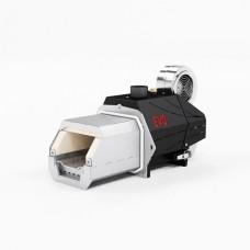 Пеллетная горелка факельного типа OXI 37 кВт авторозжиг с функцией памяти и защитой от возгорания