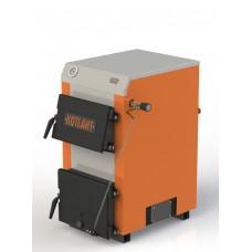 Твердотопливный котел с наклонной загрузкой Kotlant КН-15 кВт с механическим регулятором тяги