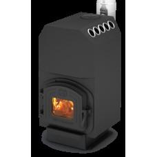 Отопительная конвекционная печь 14 кВт Теплодар ТОП 140 с варочной поверхностью длительного горения