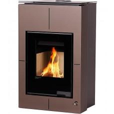Отопительная печь-камин длительного горения AQUAFLAM VARIO SAPORO (коричневый бархат)