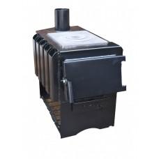 Печь длительного горения с варочной поверхностью ProTech Panda ПДГП-7 кВт из котловой стали 3 мм
