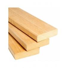 Брус Абаш для полов и скамеек 28х95 мм для бани и сауны