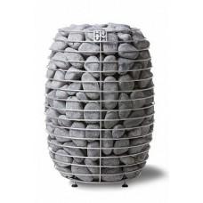 Напольная электрокаменка HUUM HIVE 18 кВт для сауны и бани объем парилки 18-35 м.куб вес камней 250 кг