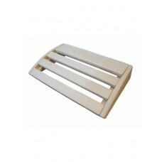 Подголовник Greus 400х260 мм абаш для бани и сауны