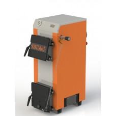 Твердотопливный котел с наклонной загрузкой Kotlant КН-12,5 кВт с механическим регулятором тяги