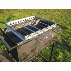 Шашлычница ПП-2 электрическая со стационарными кронштейнами (ленивый шашлычник)