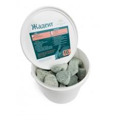 Камень жадеит шлифованный (ведро 10 кг) для электрокаменки