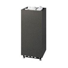 Напольная электрокаменка Tulikivi Rae Black 9 кВт из гранита для сауны и бани объем парилки 5-15 м.куб вес камней 60 кг