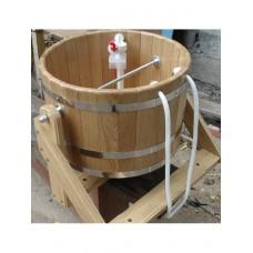 Ведро-водопад из дуба Bentwoodобъём 20 литров для бани и сауны