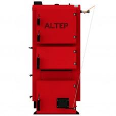 Котел твердотопливный длительного горения ALtep (Альтеп) Duo 15 кВт с механическим регулятором тяги