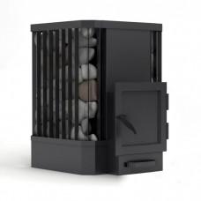 Дровяная печь-каменка Canada Ребро для бани и сауны без выноса объем парилки 20 м.куб вес камней 70 кг
