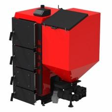 Пеллетный котел Kraft R 25 кВт с польской горелкой ретортного типа и автоматической подачей топлива