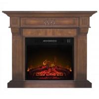 Каминокомплект ArtiFlame BEETHOVEN AF23 Махагон коричневый антик с эффектом пламени и обогревом