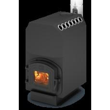 Отопительно варочная печь Теплодар ТОП 200 с чугунной дверкой