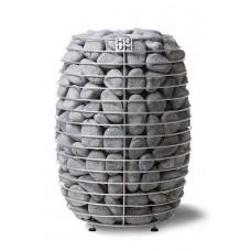 Напольная электрокаменка HUUM HIVE 12 кВт для сауны и бани объем парилки 10-25 м.куб вес камней 250 кг