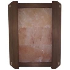 Ограждение светильника Greus угловое Термо из гималайской солью 3 плитки для бани и сауны