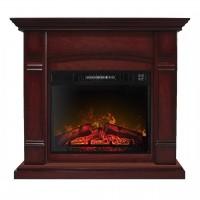 Каминокомплект ArtiFlame MANCHESTER AF23 Махагон коричневый антик с эффектом пламени и обогревом
